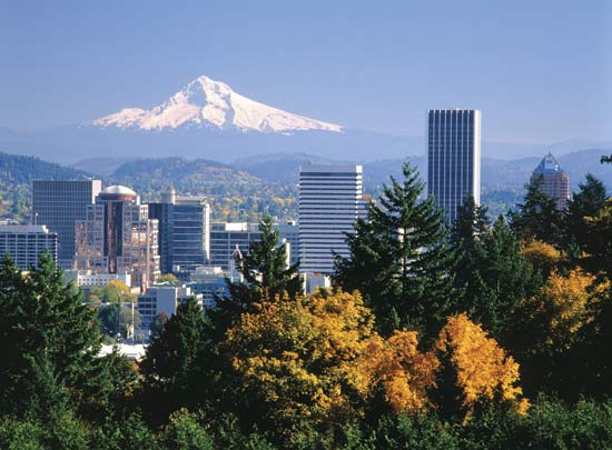 Portland-Oregon-Green-City
